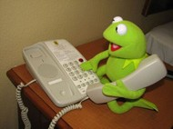 Kermit The Frog Prank Call